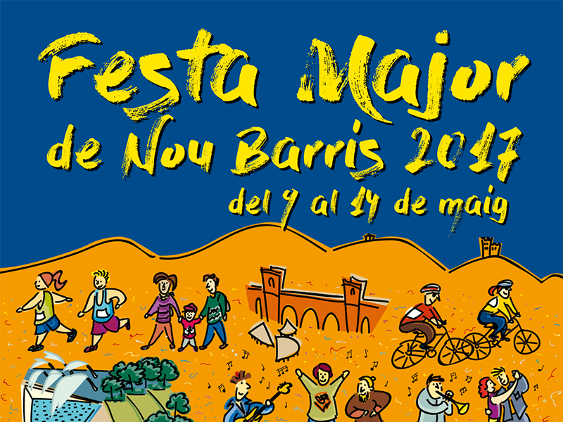 Fiesta Mayor de Nou Barris 2017