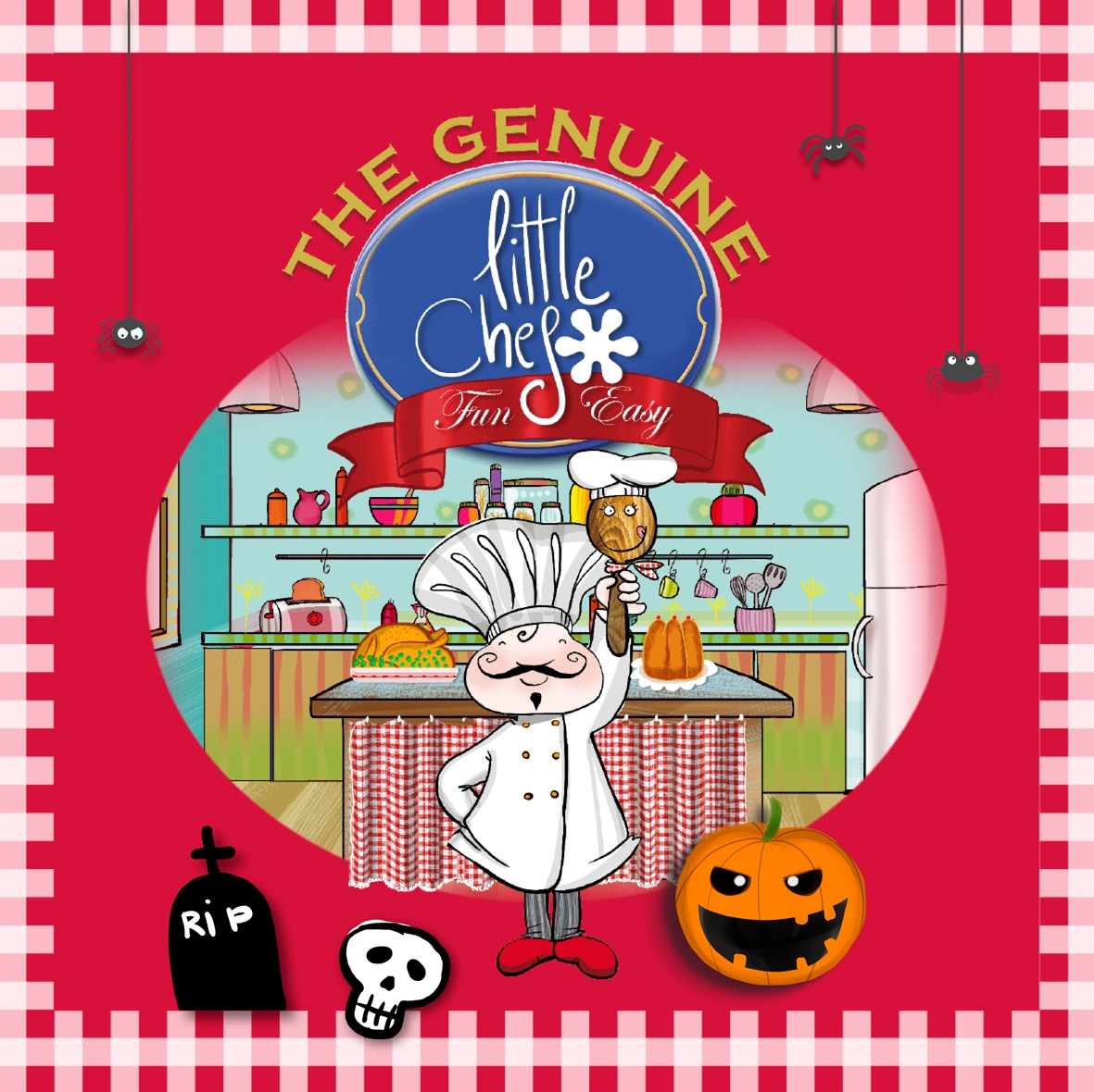 Taller Little chef especial Hallowen
